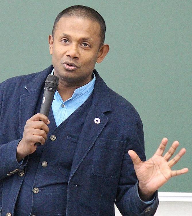 外国人の人権講演会講師